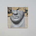 Insomniac, 1989 collage 23x26cm